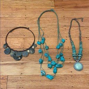 Jewelry - Turquoise necklaces
